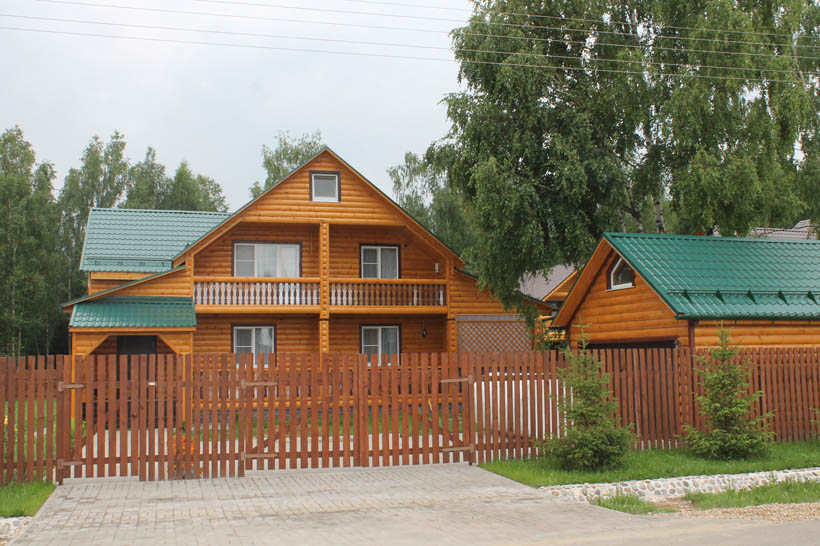 Коттеджный дом в дарьино
